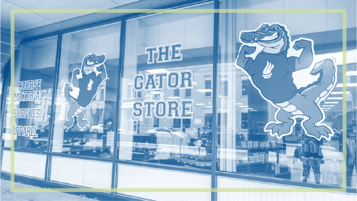 Gator Book store outside view