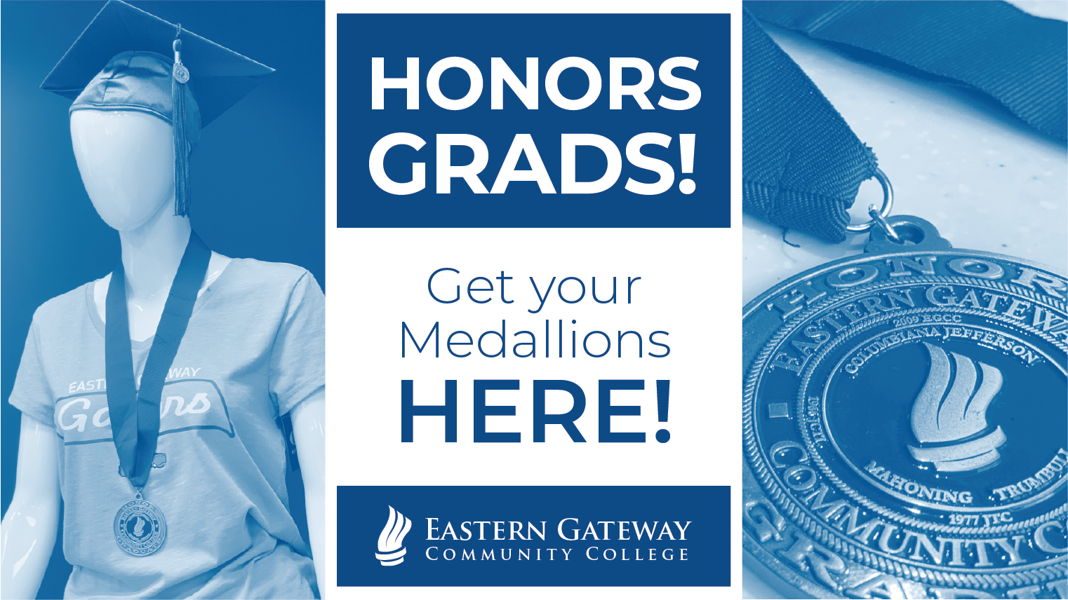 EGCC Honors Medallion order here